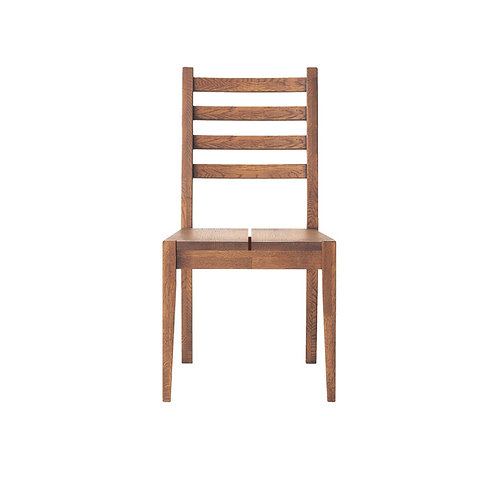 Whisky Oak Dining Chair (Wooden Seat)