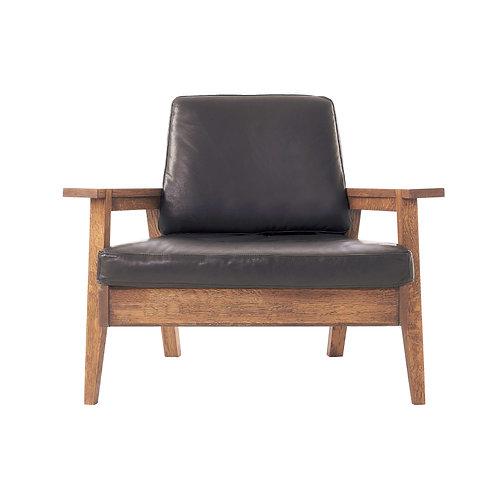 Whisky Oak 1P Sofa (Cushion Type)