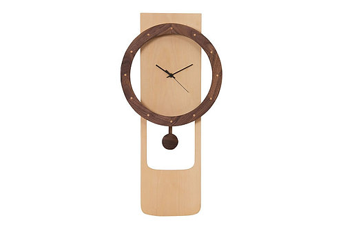 Time Wall Clock Wheel Pendulum