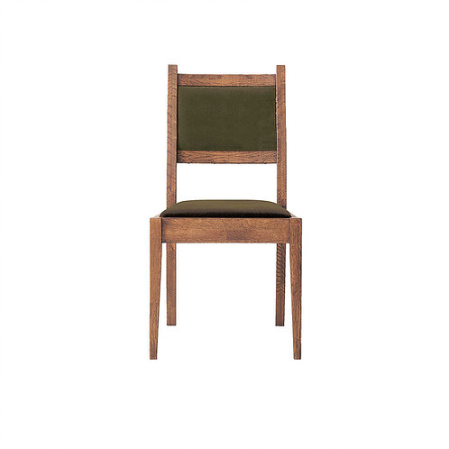 Whisky Oak Dining Chair (Back + Seat Cushion)