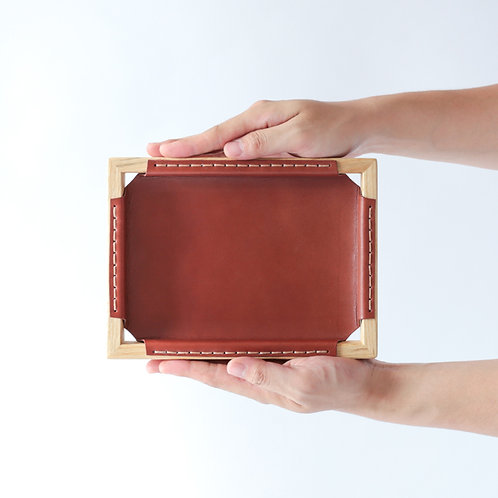 Luonto Leather Tray