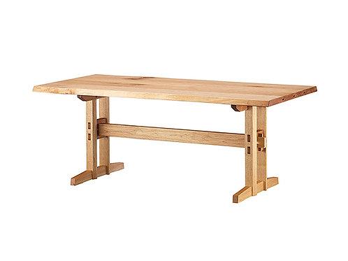 Shirakawa 飛騨の匠工房 Hida Takumi Studio Dining Table (Type B Legs)