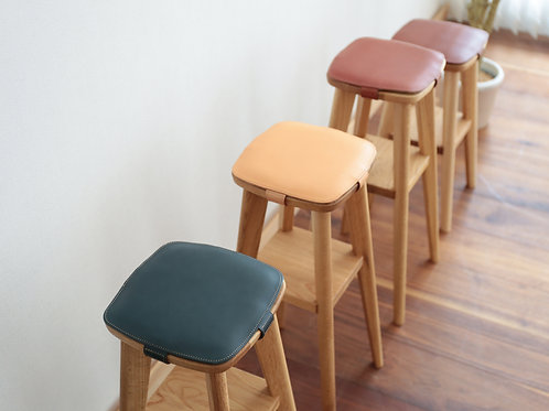 Luonto Leather Cushion for Stool