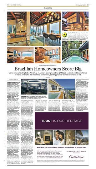 BRAZIL'S WORLD CUP REAL-ESTATE BLITZ