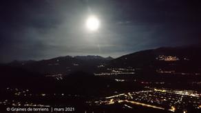 Ballade au clair de lune :  28 mars 2021