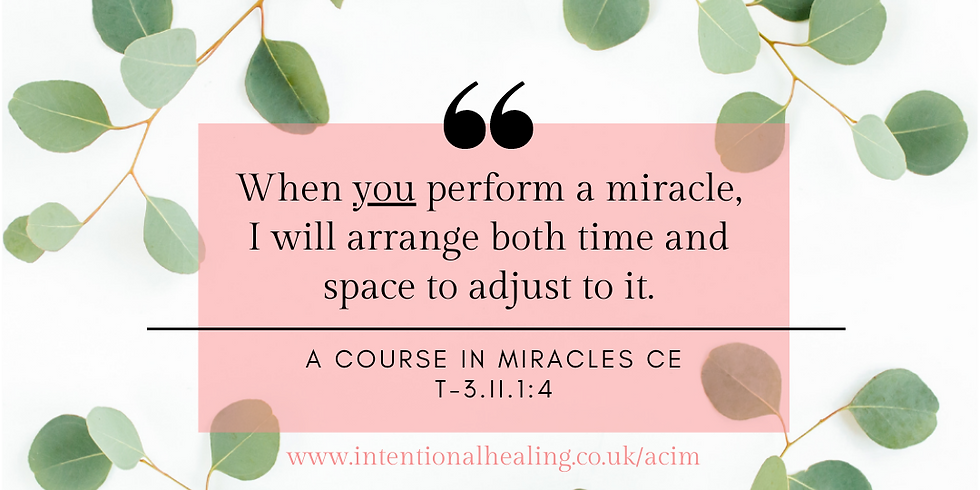 ACIM CE Study Group - March Sessions