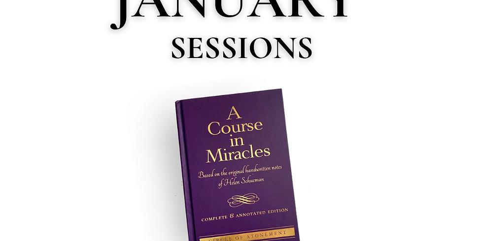 ACIM CE Study Group - January Sessions