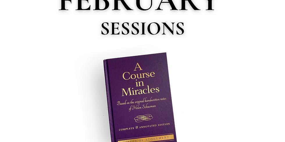 ACIM CE Study Group - February Sessions