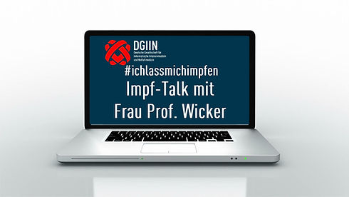 Impf-Talk mit Frau Professor Wicker (Fra