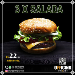 3 X SALADA