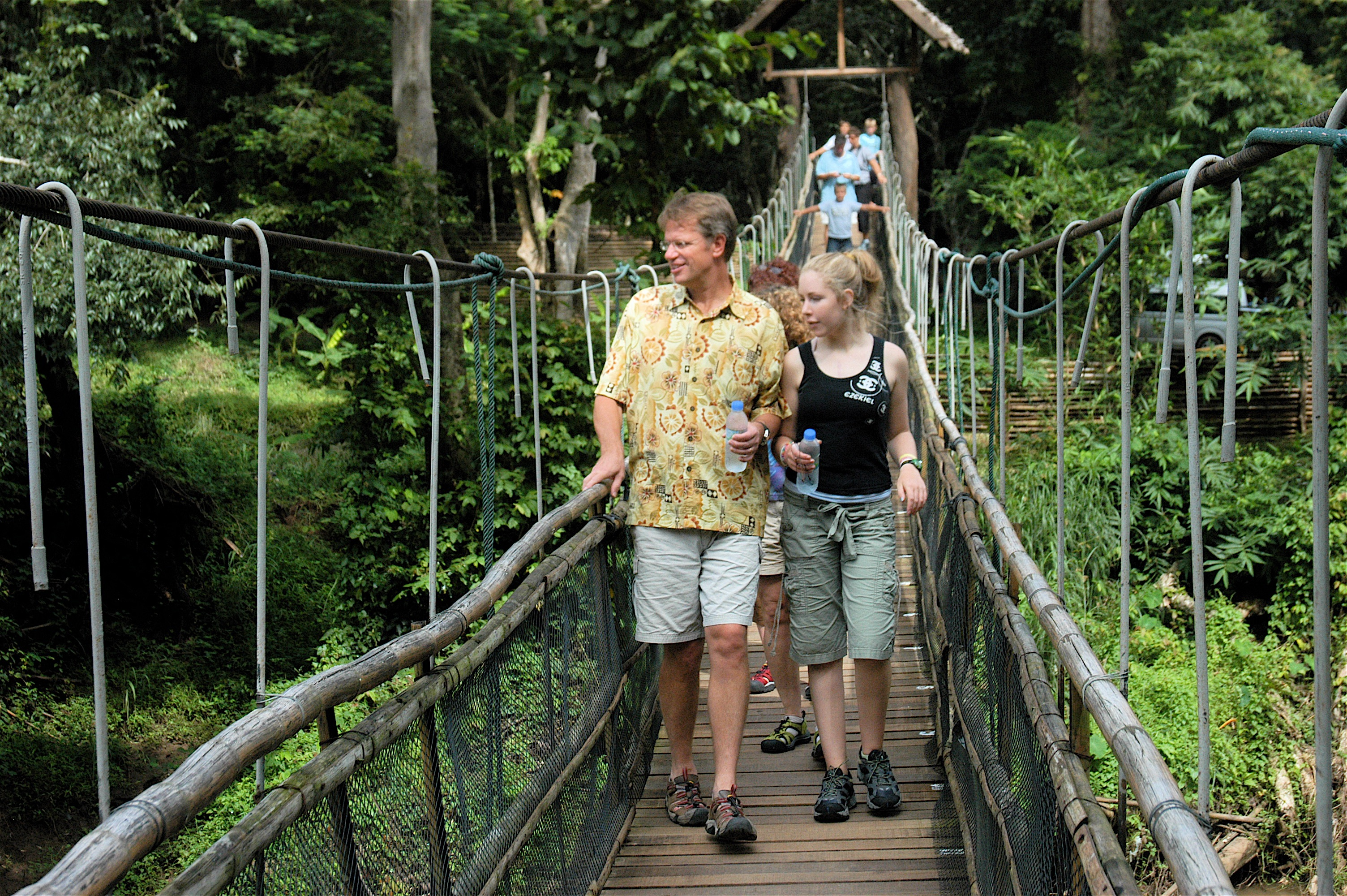 Dad and Julia Thailand
