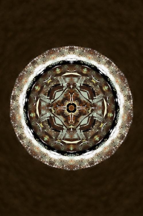 """Reiki Infused Mandala Tapestry - Size S - 16"""" x 24"""""""