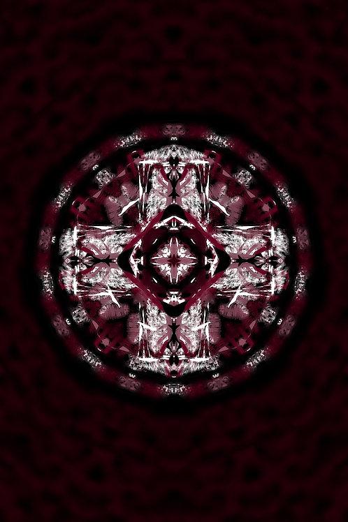 """Reiki Infused Mandala Tapestry - Size S - 16"""" x 23"""""""