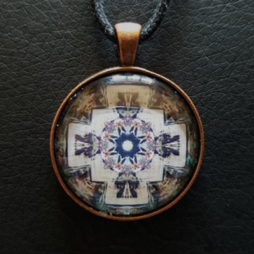 Mandala Pendant with Cord 110355