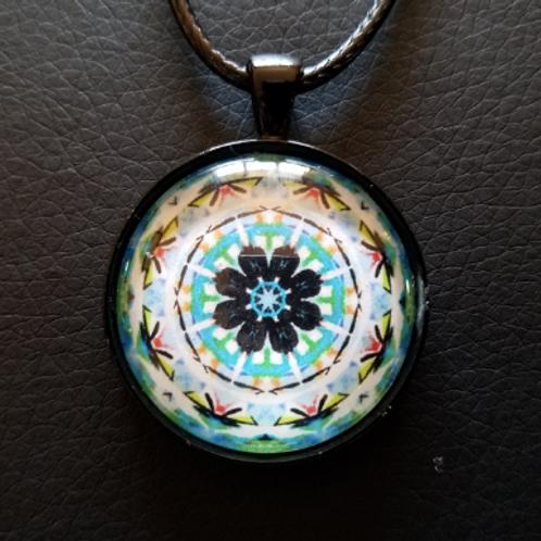 Mandala Pendant with Cord