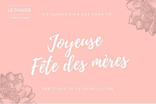 Carte cadeau LE PANIER 76€