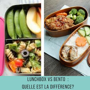 Lunchbox VS Bento : quelle est la différence ?