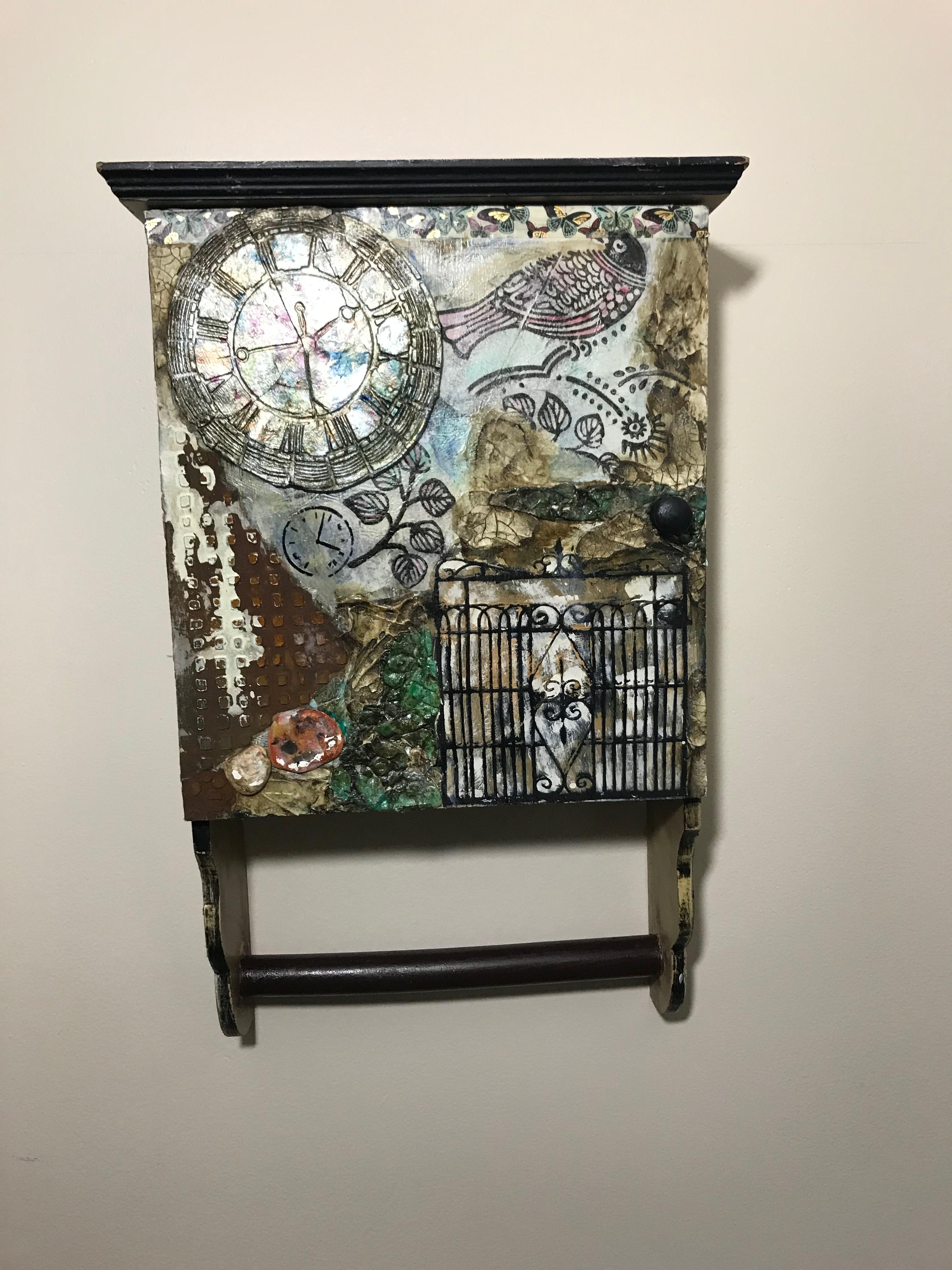 O120 - Spice Cabinet