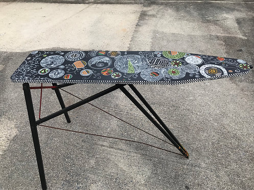 O109 - Wooden Ironing Board