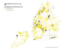 Mapping Urban Renewal & Redlining