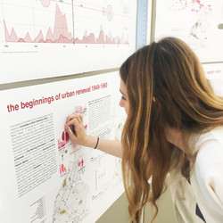 Visitors Engaging with the Maps