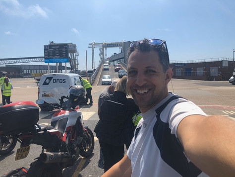 Cycling from London to the Black Sea - Pt1