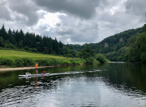 SUP the River Wye - Day 3
