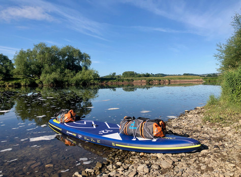 SUP the Wye - Day 1