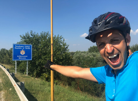 Cycling from London to the Black Sea - Pt3