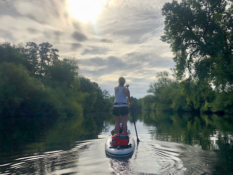 SUP the River Wye - Day 2