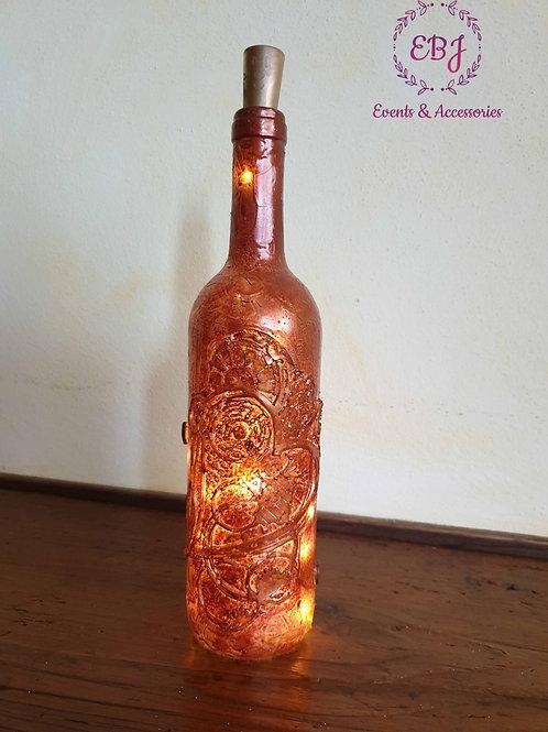 Bottiglia luminosa con Cuore in rilievo