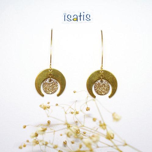 Boucles d'oreilles Paillettes 06
