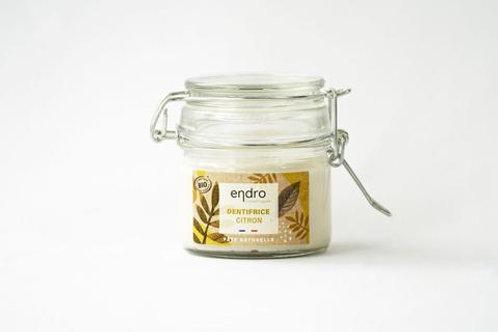 Dentifrice en pâte Endro - Citron bio