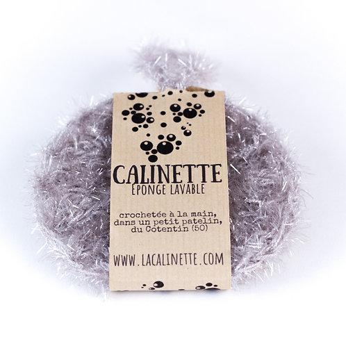 """Eponge lavable """"la Calinette"""" gris"""