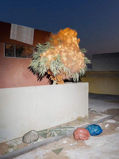 AHMED DREBIKA, It's So Nice To Have Something To Lose, 2019