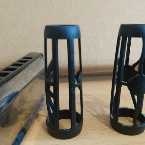 Product prototype in black
