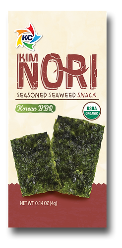 Organic Korean B.B.Q. Seaweed Snack 1 BOX (12PACK)
