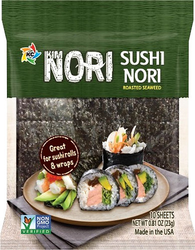Kim Nori Susi Nori - Roasted Seaweed - Great for Sushi Rolls & Wraps