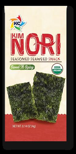 Organic Sweet N' Spicy Seaweed Snack 1 BOX ( 12 Pack )