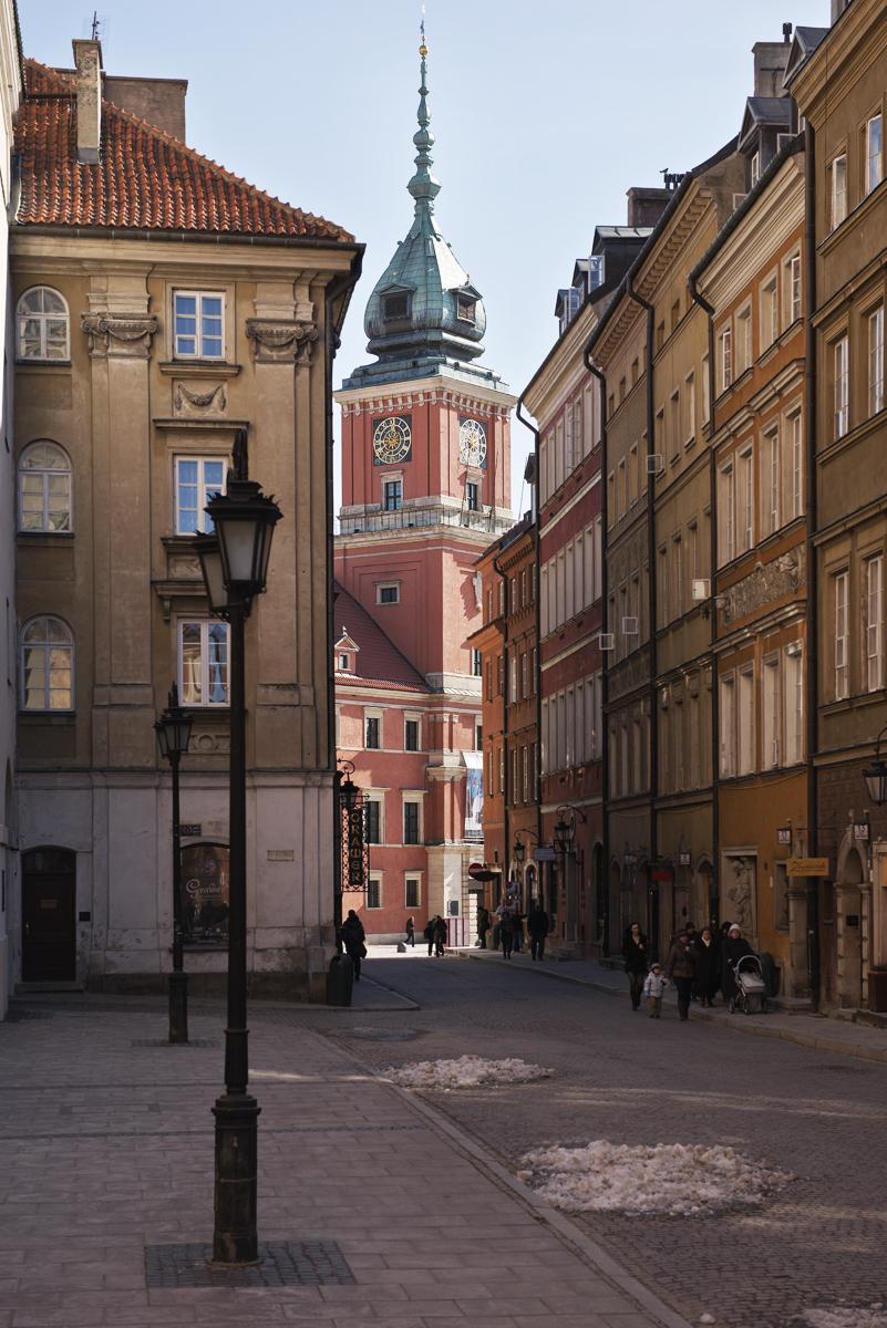 Palac Krolewski, Warszawa