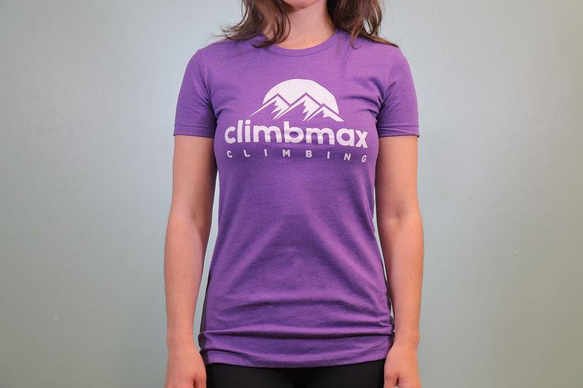 Climbmax Logo Tee - Women's Crew Neck
