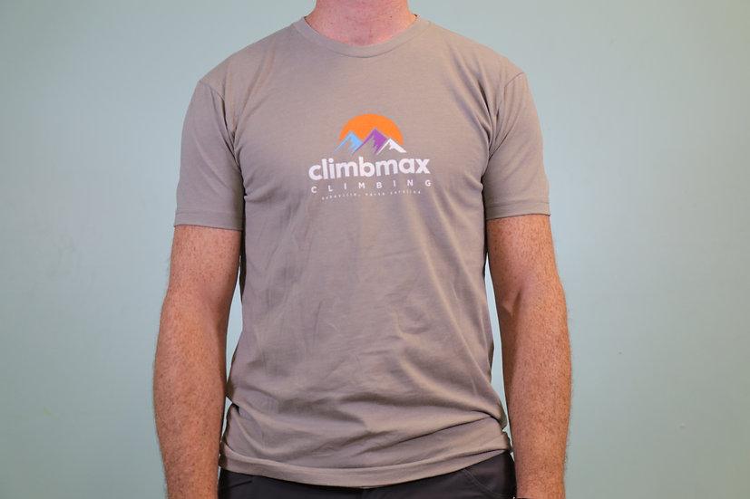 Climbmax Full Color Logo Tee - Men's Crew Neck - Past Season