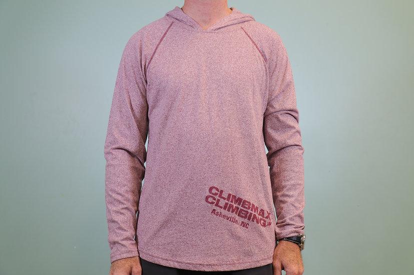 Climbmax Logo Hooded Long Sleeve Shirt - Unisex (Past Season)