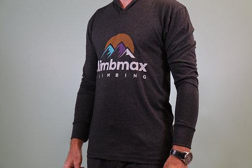 Climbmax Logo Hooded Long Sleeve Shirt - Unisex