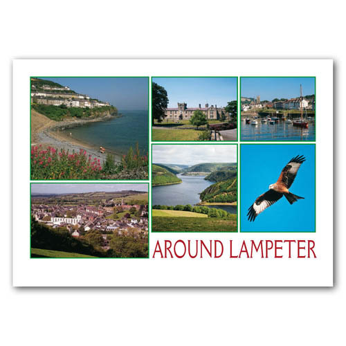 Lampeter - Sold in pack (100 postcards)