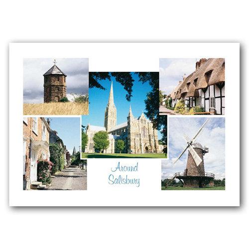 Salisbury Comp - Sold in pack (100 postcards)