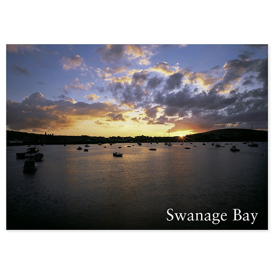 Swanage Bay - Sold in pack (100 postcards)