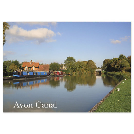 Avon Canal - Sold in pack (100 postcards)