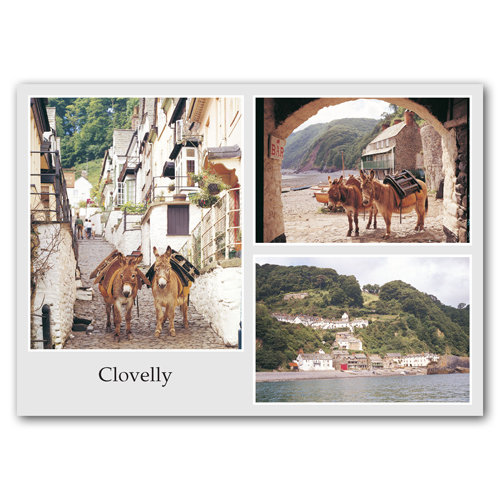 Clovelly Comp - Sold in pack (100 postcards)