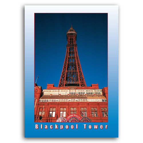 Blackpool Tower - Sold in pack (100 postcards)